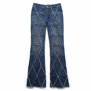 Free People Tyler Pieced Flare Jeans